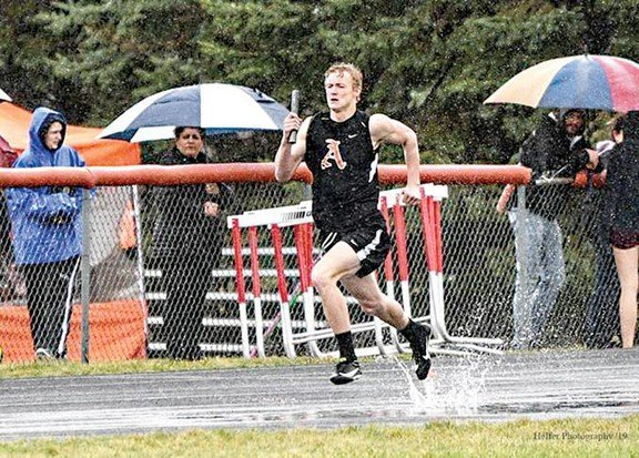 Almont boys second in division