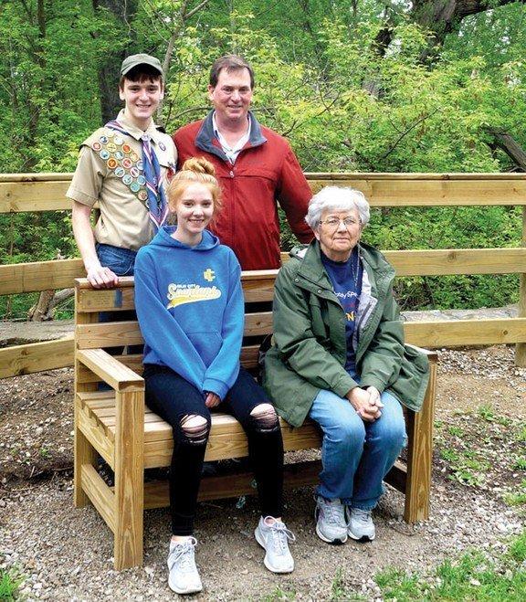 Eagle Scout enhances Polly Ann trail