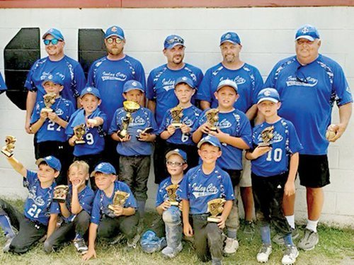 Imlay City 8U captures first place
