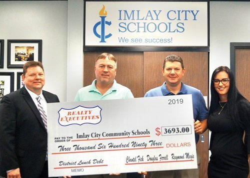 Imlay grad, colleagues give back
