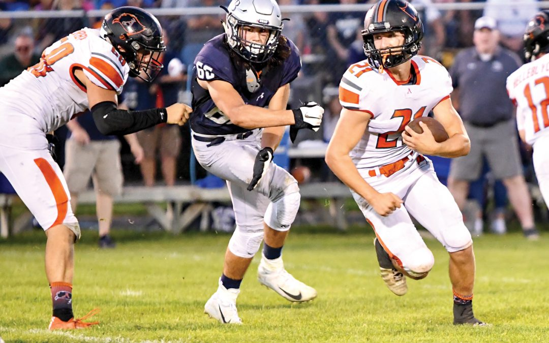 Almont rolls by North Branch, 61-20