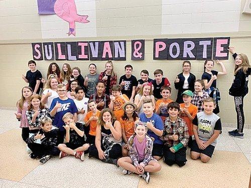 Almont school motivated for Fun Run