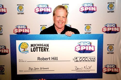 Area man wins $1 million in Lottery's 'The Big Spin'