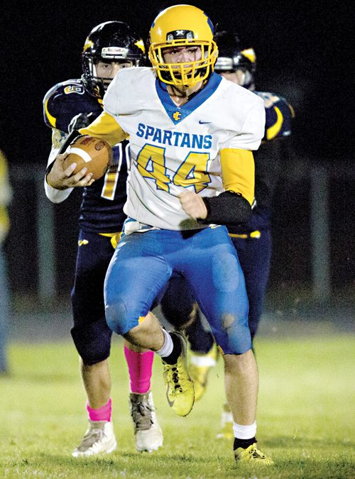 Imlay too much for Capac, 34-3
