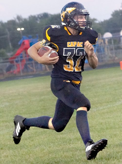 Capac gets first win on the season