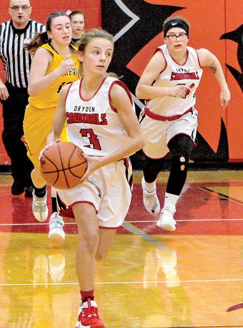Dryden girls roll, 52-17