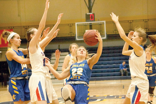 Imlay City girls roll over St. Clair