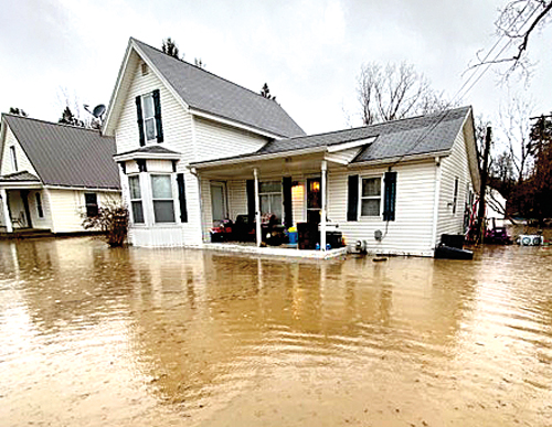 Saturday's storm floods homes, streets