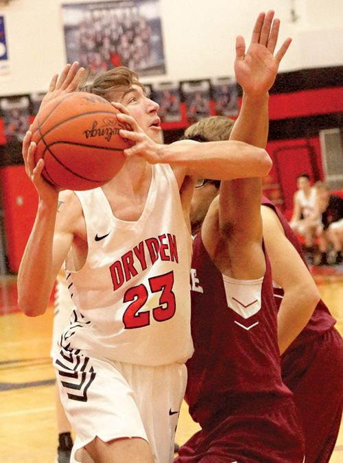 Dryden gives Mayville a 56-43 loss