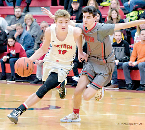 Dryden falls to Kingston at buzzer