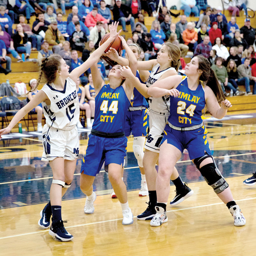 Imlay tops North Branch, 50-34