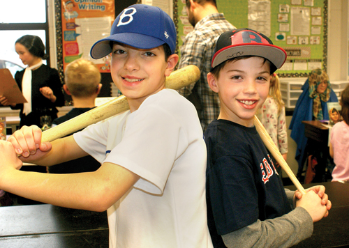 Almont students mimic history at wax museum