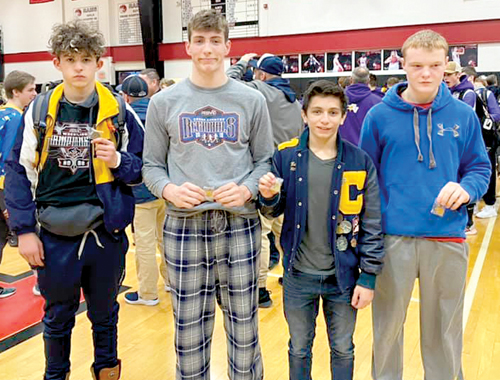 Capac earns a spot  for four in regionals