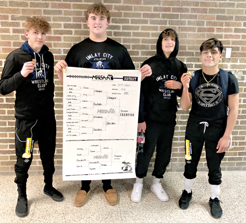 Imlay sends four  on to regionals