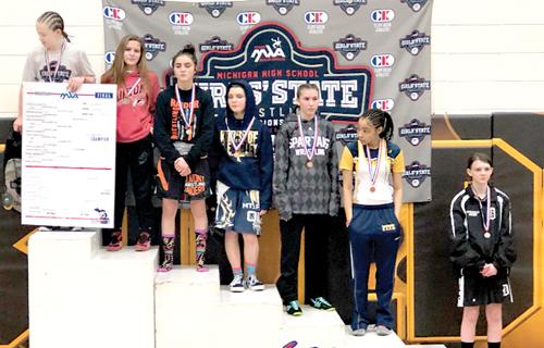 Stanton garners a third at states