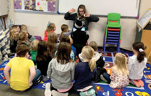 'Egg-citing' times for Dryden students