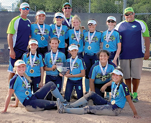 Almont Attack 12U claims a title