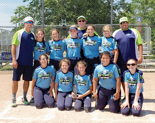 Almont Attack 12U take second