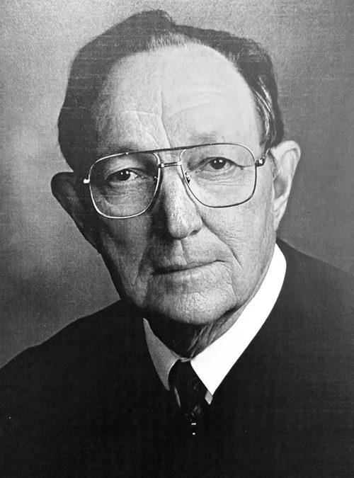 Judge James P. Churchill, 96
