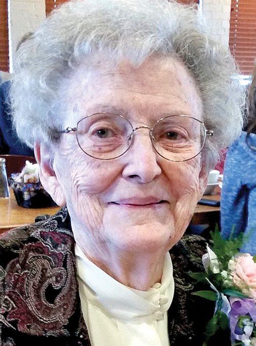 Marietta F. Hamilton, 100