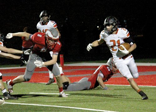 Almont bows out to Frankenmuth