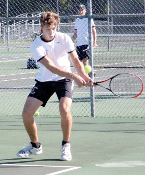 Bussone nets  All-State honors