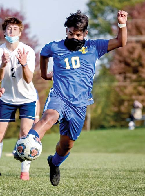 Imlay soccer players honored