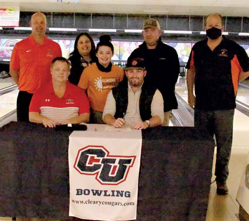 Stine set to bowl at Cleary University