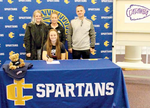 Denver signs with Catawba College