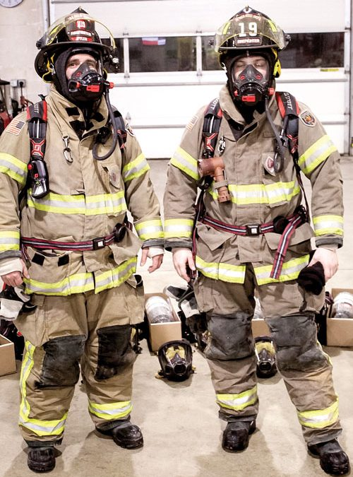 Attica upgrades air packs for firefighters