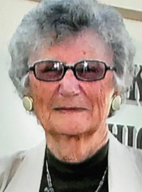 Anne Rinderknecht, 97