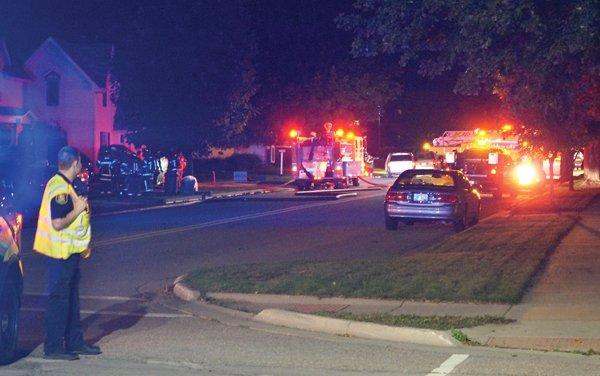 Smoke detectors, quick response avert tragedy
